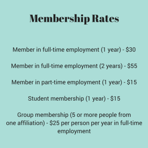Membership RatesMember in full-time employment
